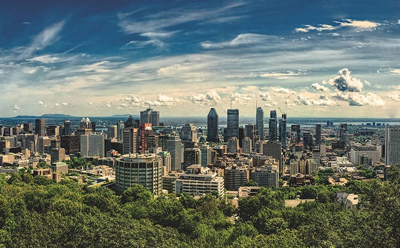 Montreal canadá francés