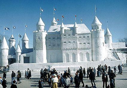 Palacio de hielo carnaval de quebec