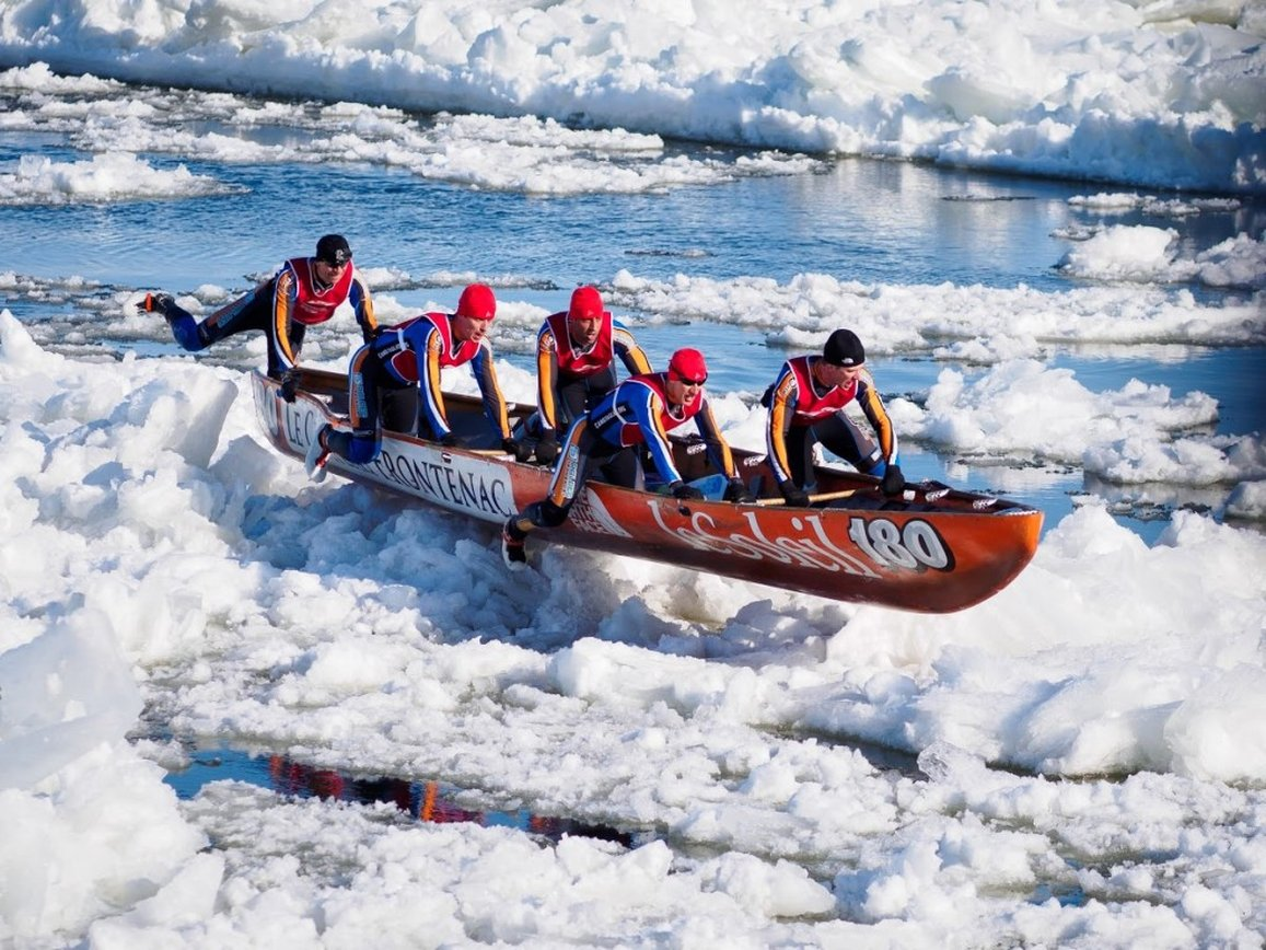 regata piraguas invierno